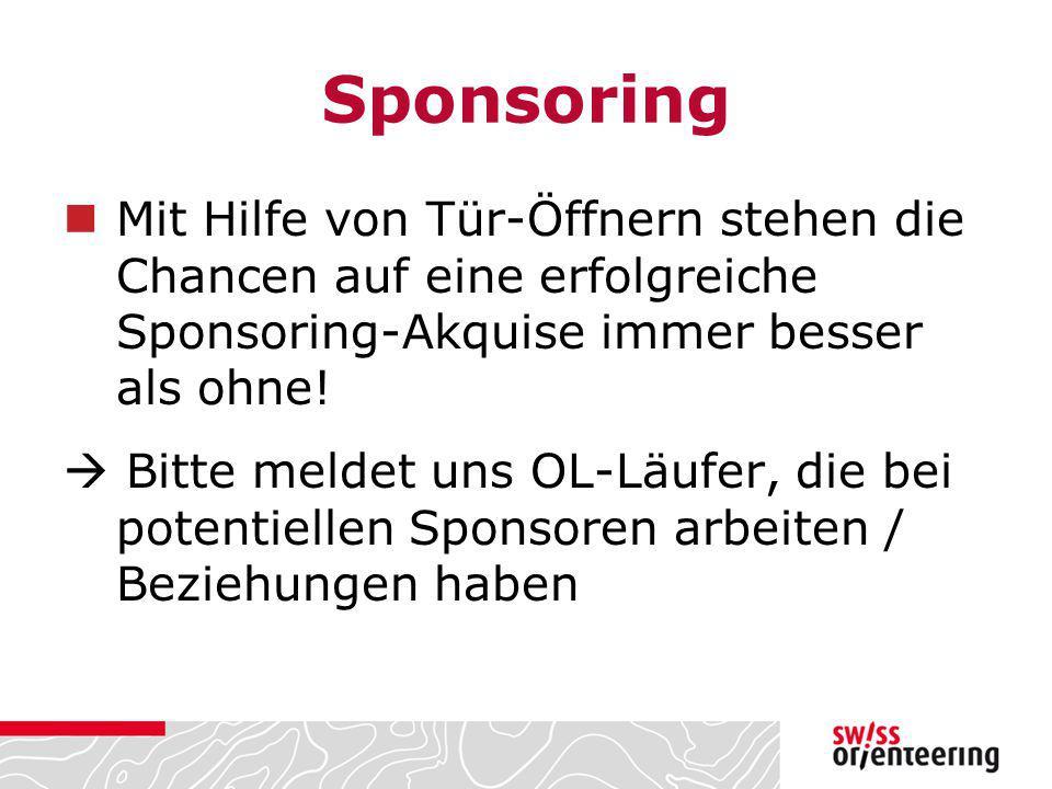 Sponsoring Mit Hilfe von Tür-Öffnern stehen die Chancen auf eine erfolgreiche Sponsoring-Akquise immer besser als ohne!