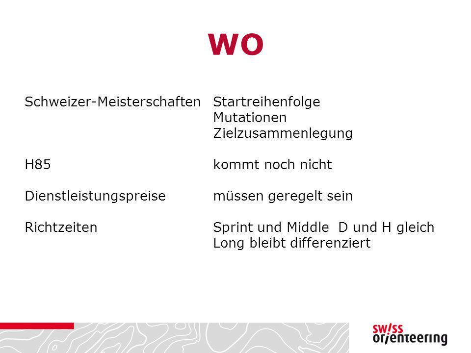 WO Schweizer-Meisterschaften Startreihenfolge Mutationen