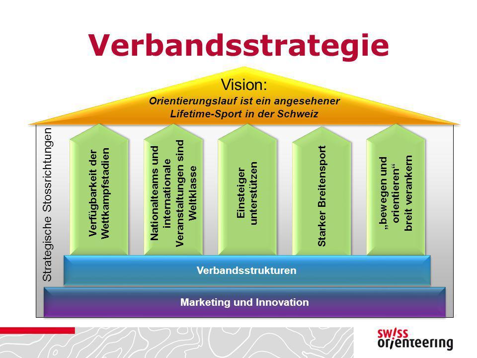 Verbandsstrategie Vision: Strategische Stossrichtungen