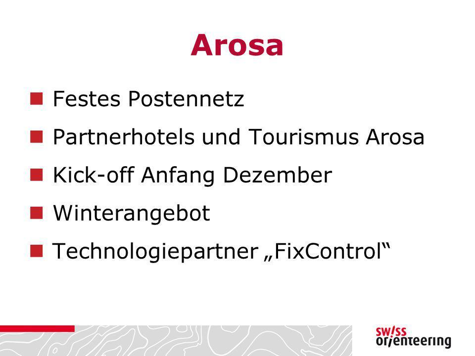 Arosa Festes Postennetz Partnerhotels und Tourismus Arosa