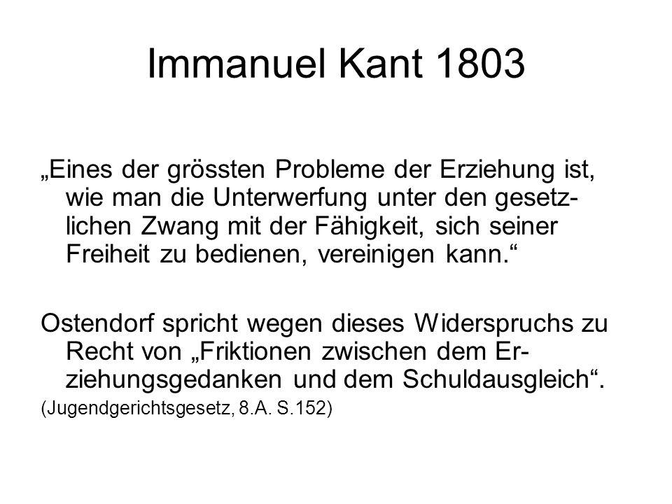 Immanuel Kant 1803
