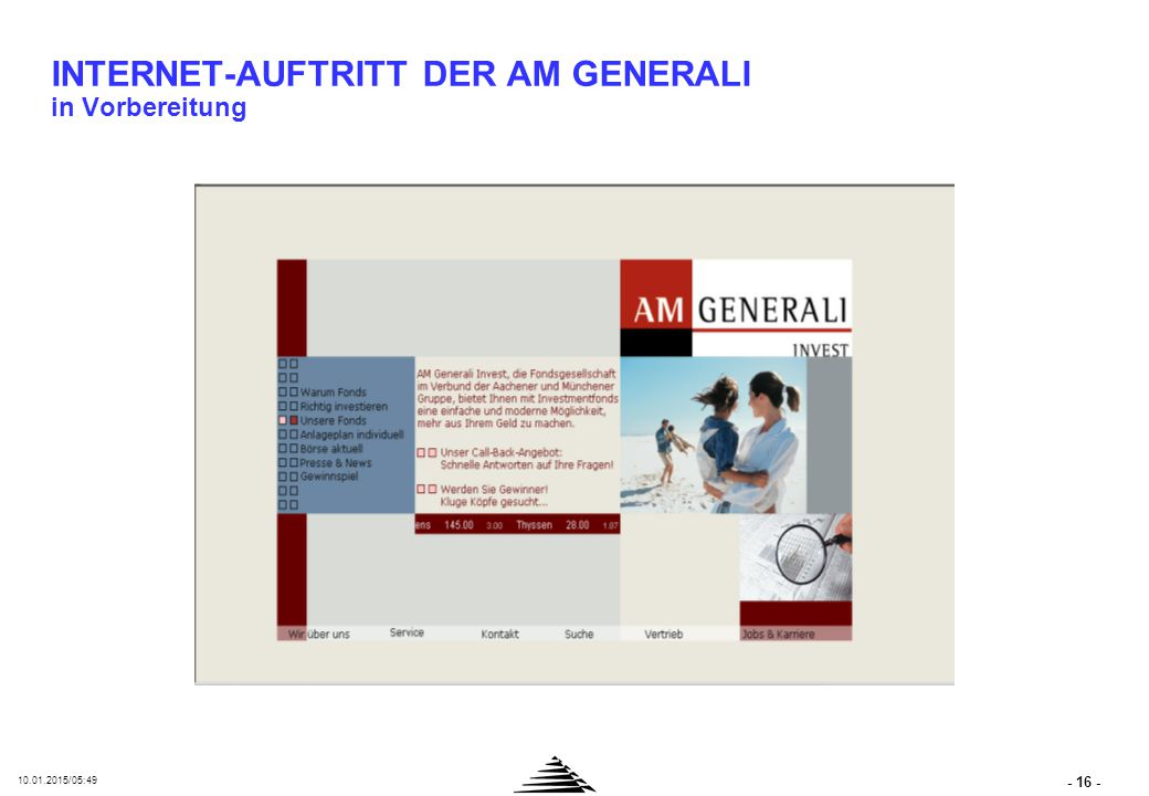 Intranets in der AM Gruppe