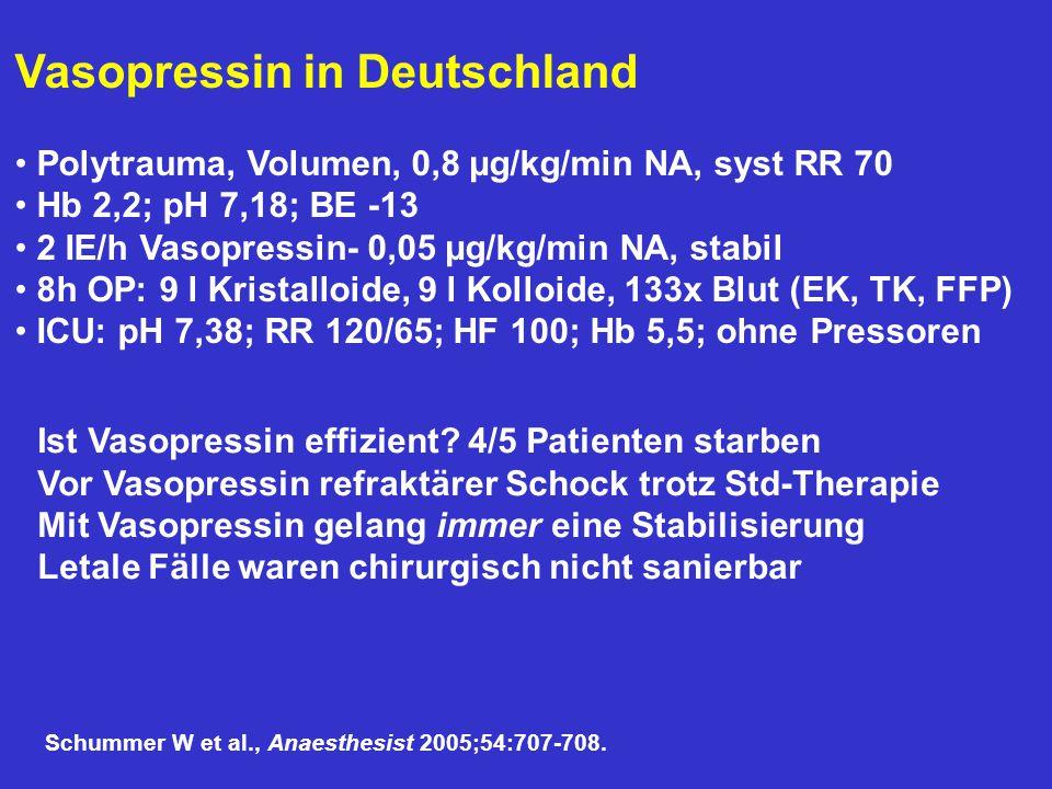 Vasopressin in Deutschland