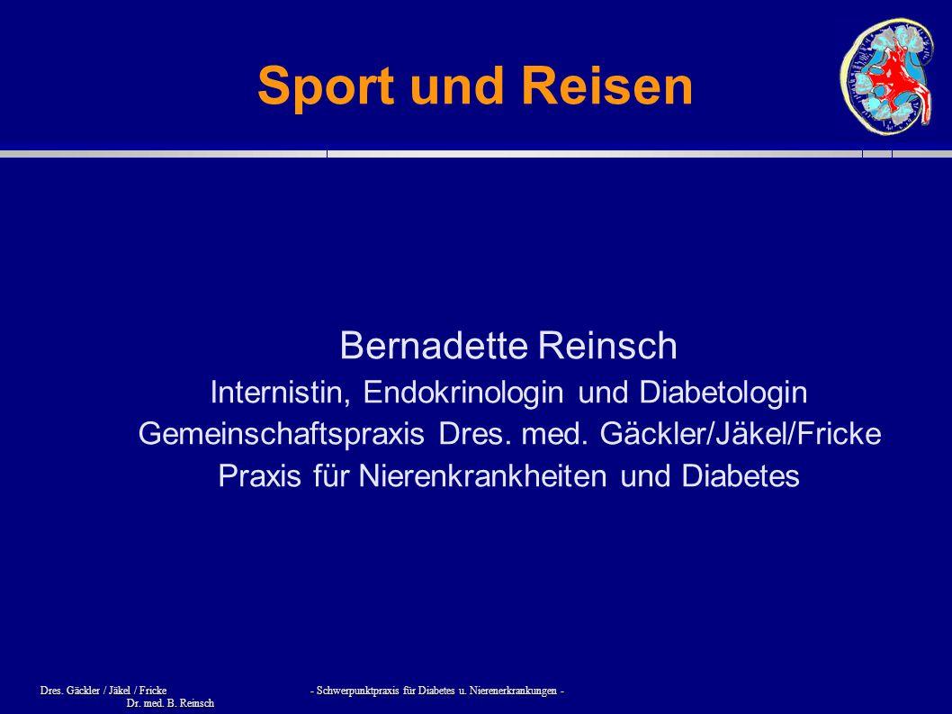 Sport und Reisen Bernadette Reinsch