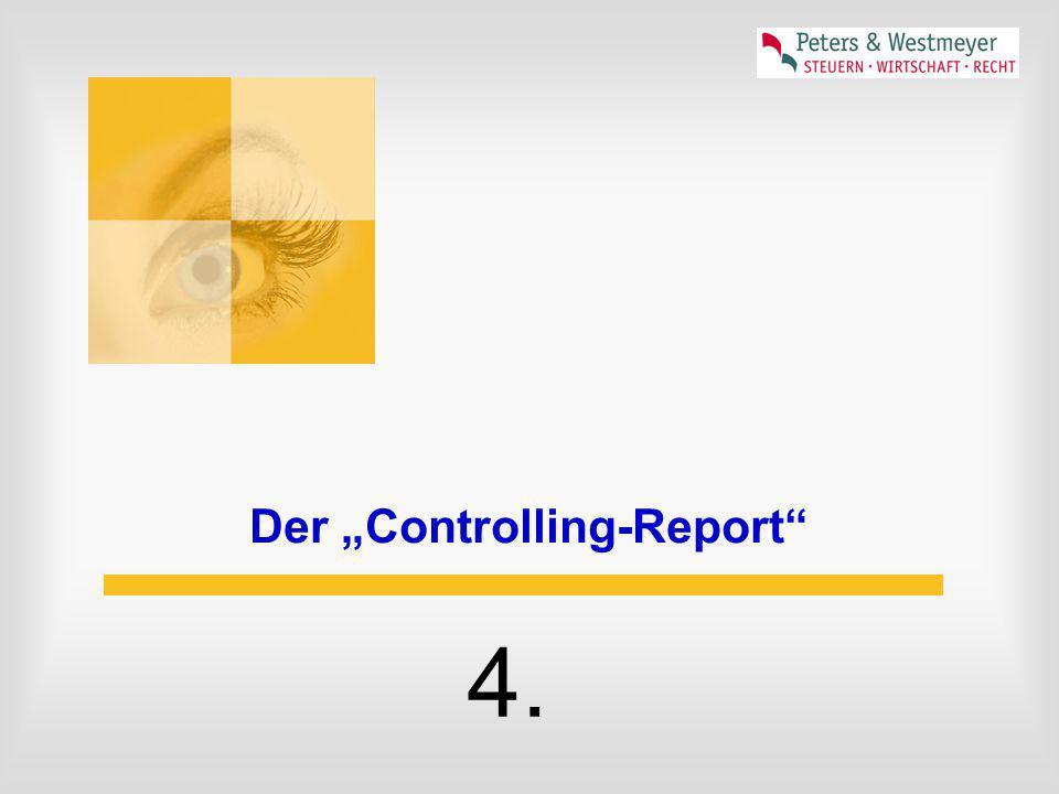 "Der ""Controlling-Report"