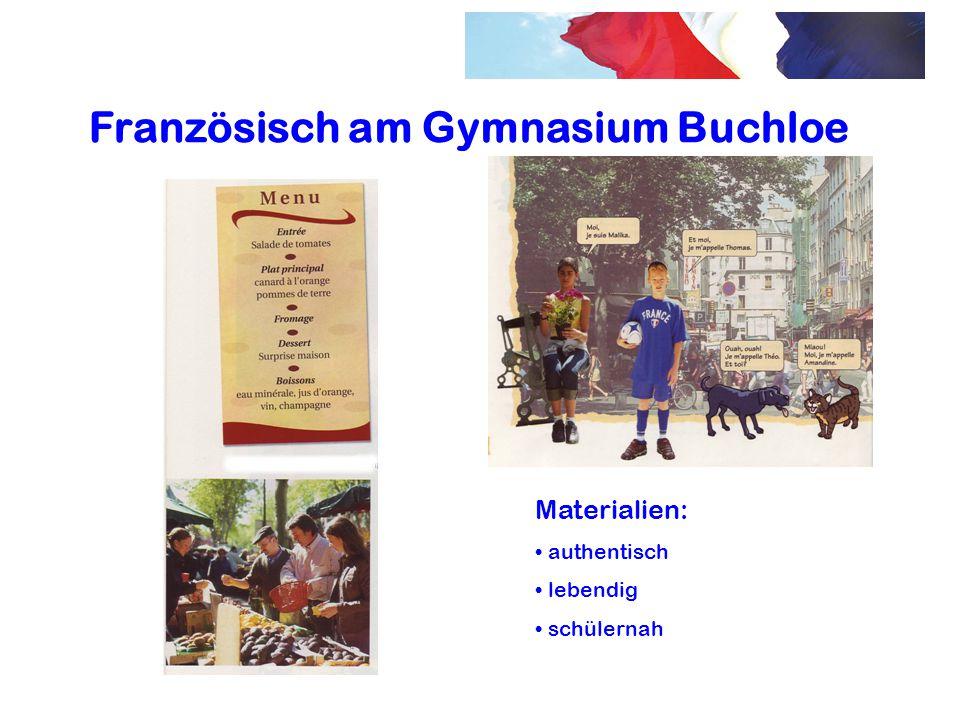 Französisch am Gymnasium Buchloe