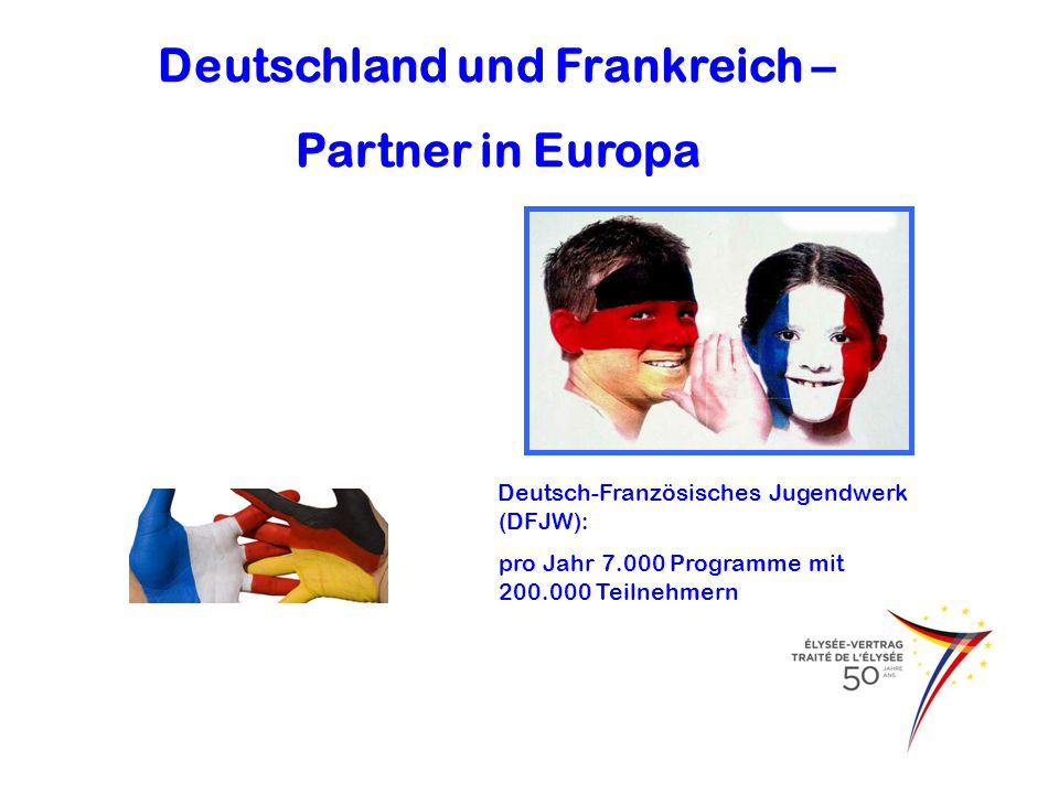 Deutschland und Frankreich –