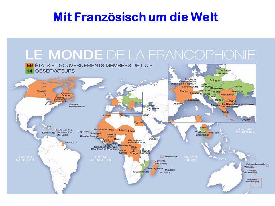 Mit Französisch um die Welt