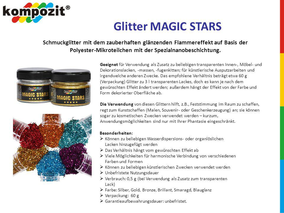Glitter MAGIC STARS
