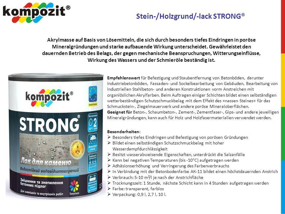 Stein-/Holzgrund/-lack STRONG®