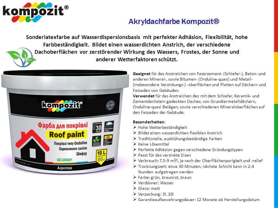 Akryldachfarbe Kompozit®