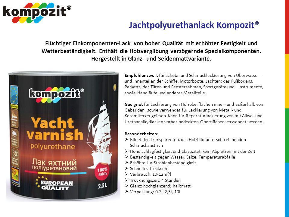 Jachtpolyurethanlack Kompozit®