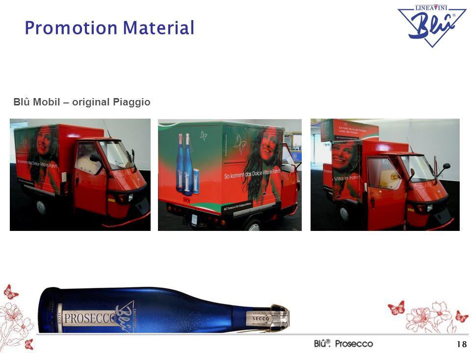 Promotion Material Blû Mobil – original Piaggio