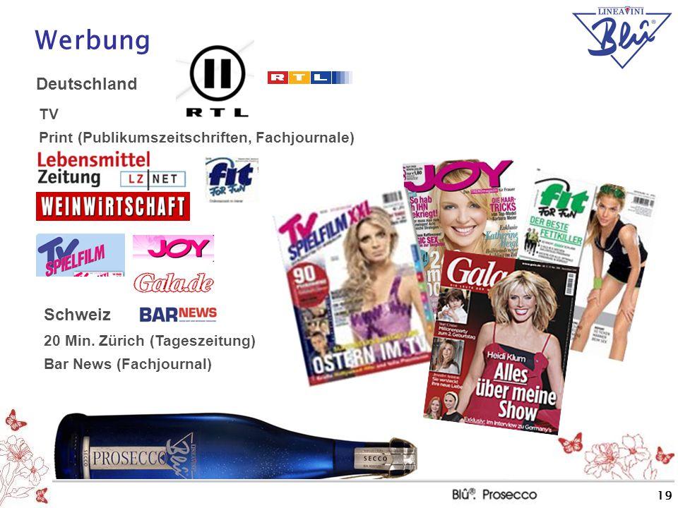 Werbung Deutschland Schweiz TV