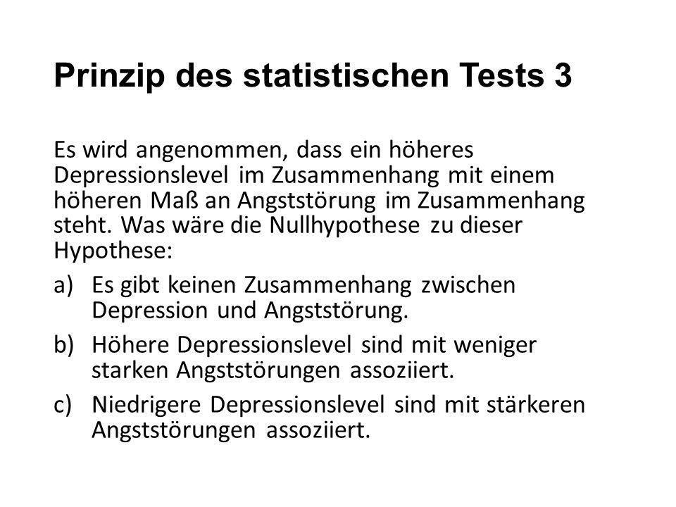 Prinzip des statistischen Tests 3