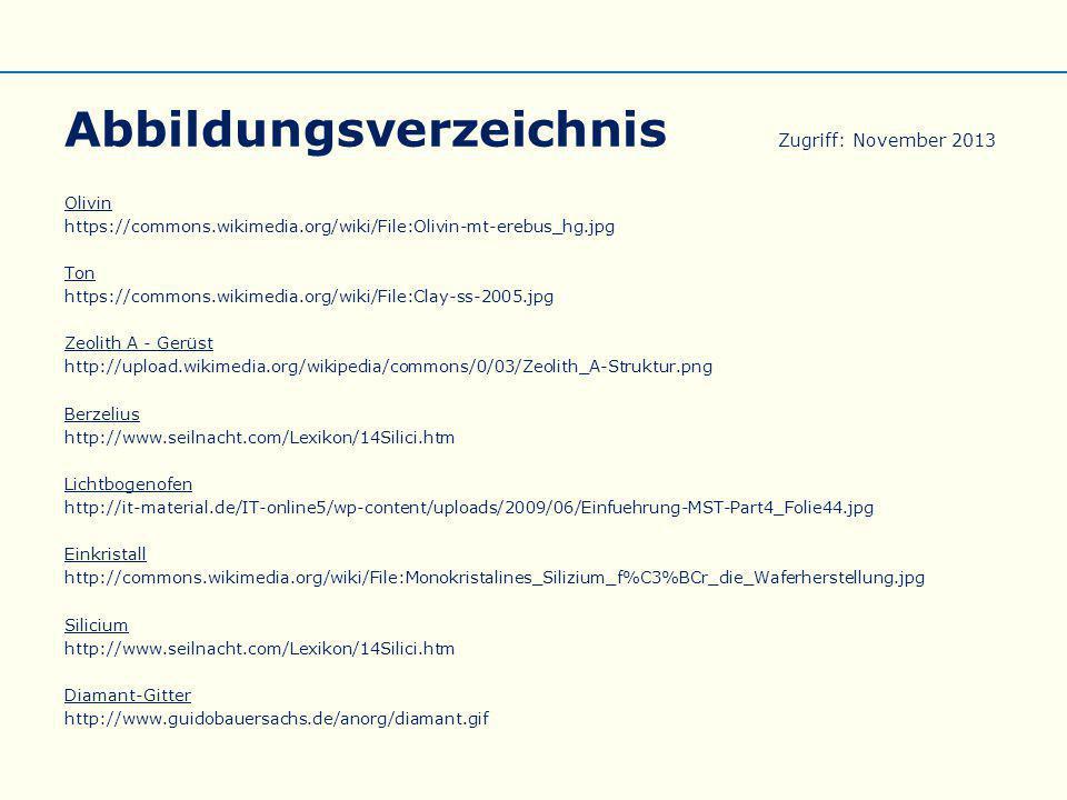 Abbildungsverzeichnis Zugriff: November 2013