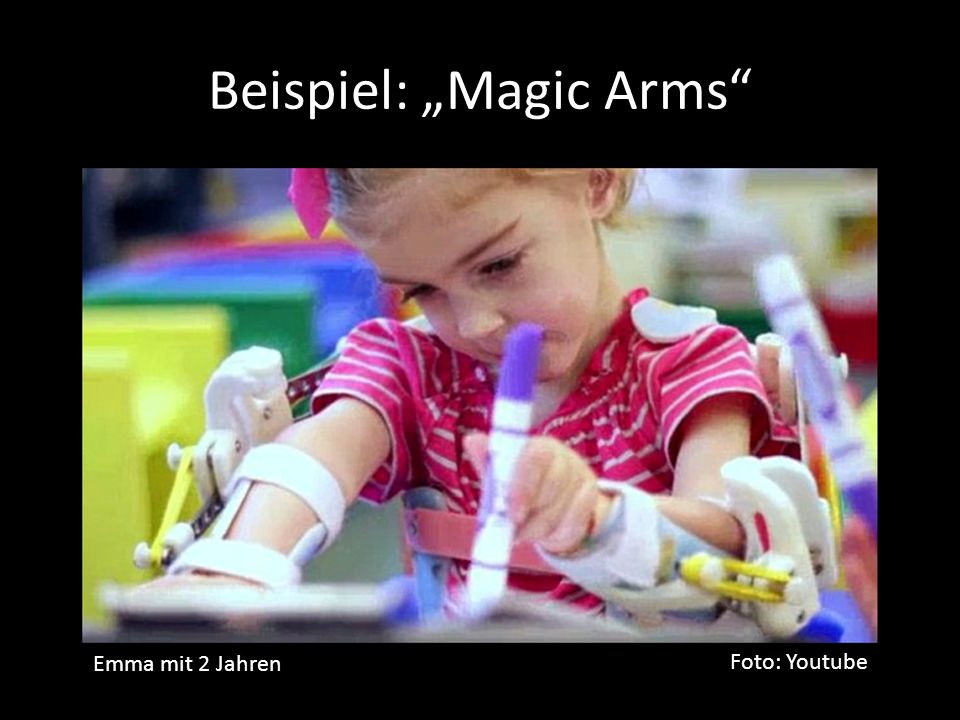 "Beispiel: ""Magic Arms"