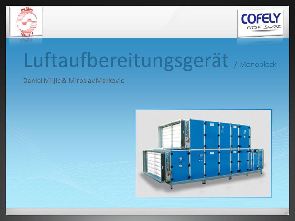 Luftaufbereitungsgerät / Monoblock