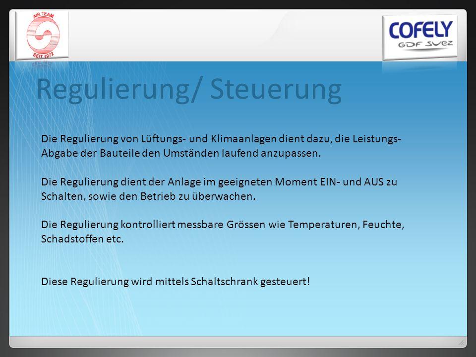 Regulierung/ Steuerung