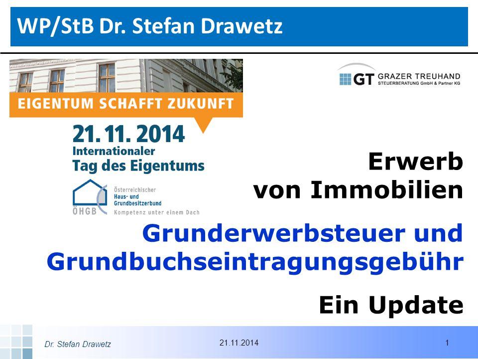 WP/StB Dr. Stefan Drawetz
