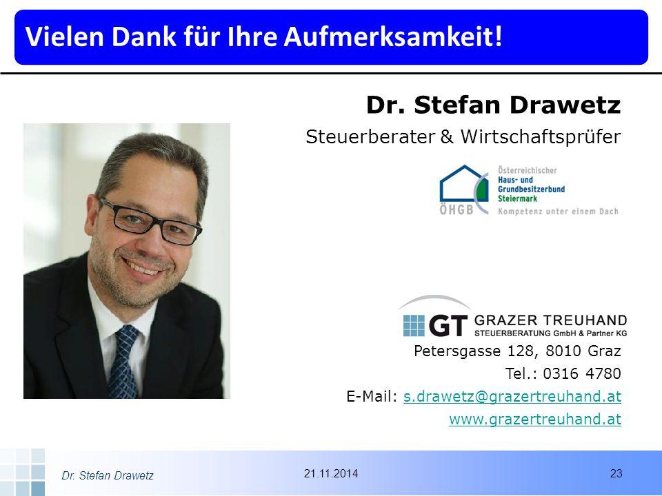 Dr. Stefan Drawetz Steuerberater & Wirtschaftsprüfer