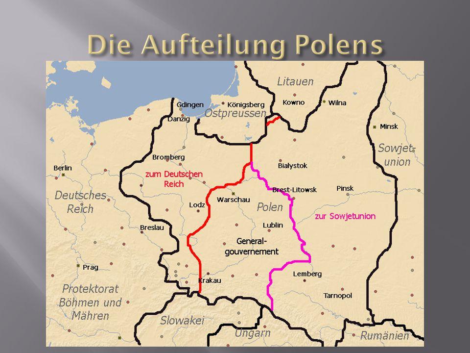 Die Aufteilung Polens