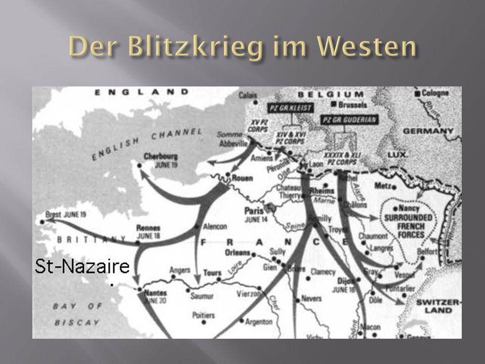 Der Blitzkrieg im Westen