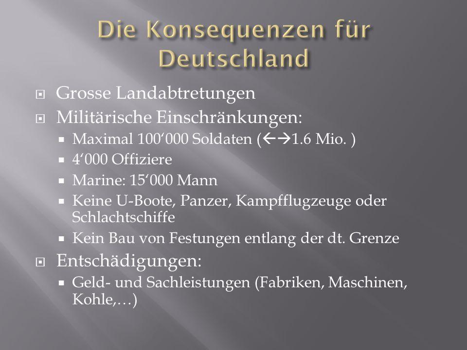 Die Konsequenzen für Deutschland