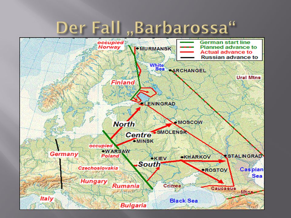 "Der Fall ""Barbarossa"