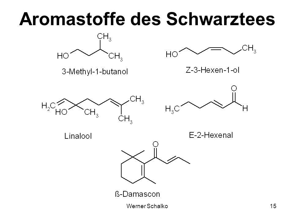 Aromastoffe des Schwarztees