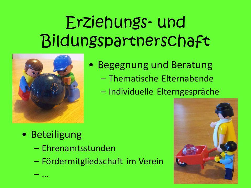 Erziehungs- und Bildungspartnerschaft