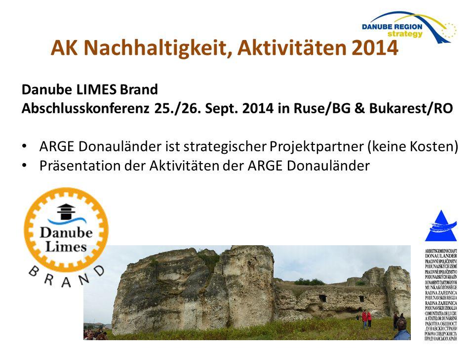 AK Nachhaltigkeit, Aktivitäten 2014