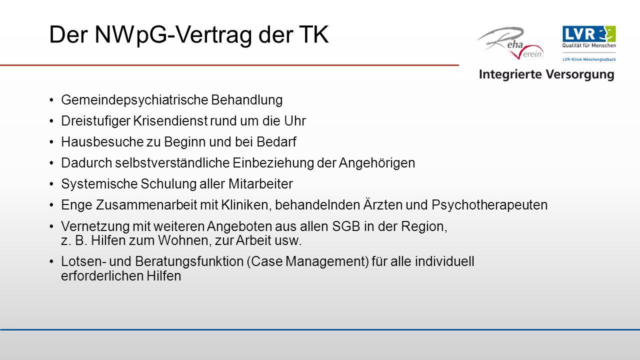 Der NWpG-Vertrag der TK