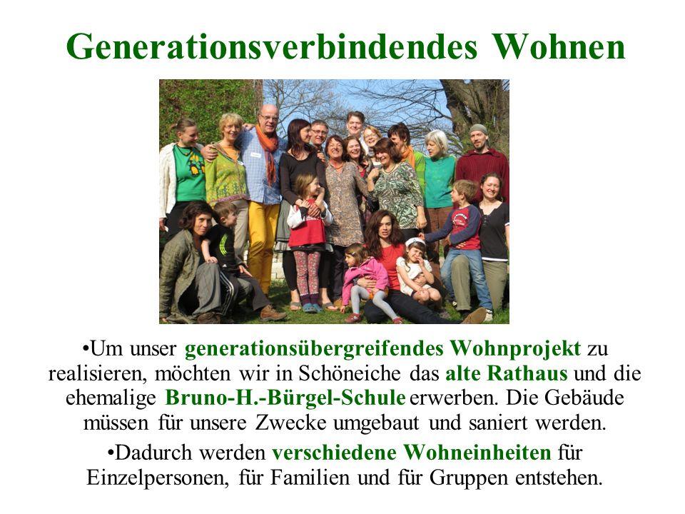 Generationsverbindendes Wohnen