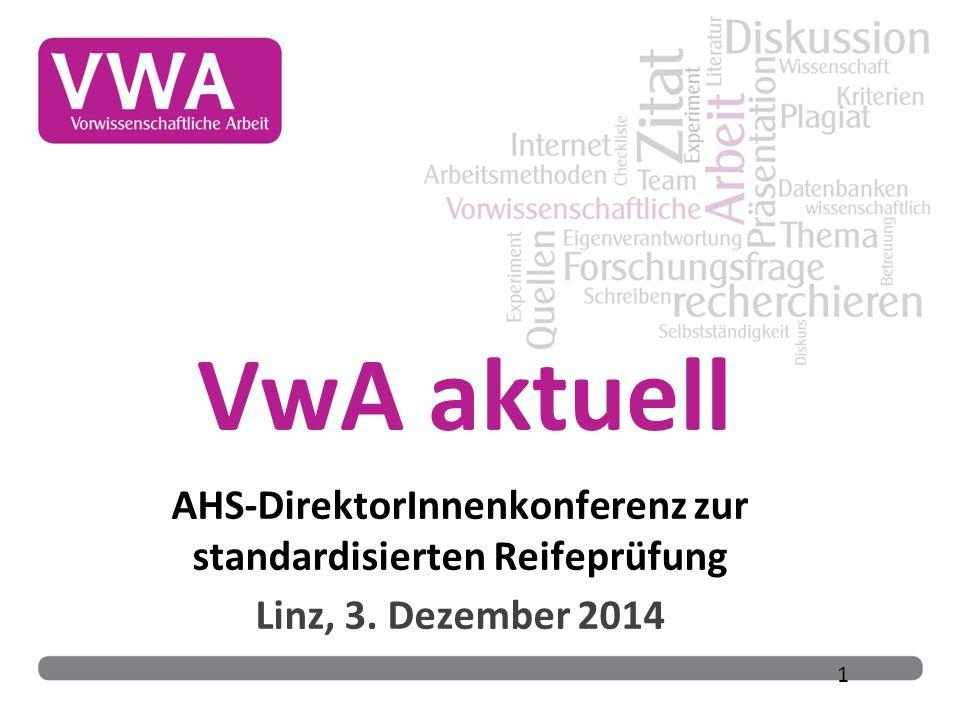 AHS-DirektorInnenkonferenz zur standardisierten Reifeprüfung