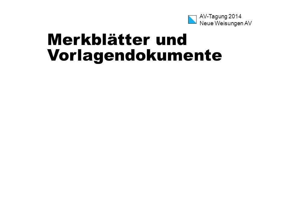 Merkblätter und Vorlagendokumente