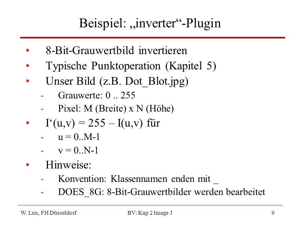 """Beispiel: """"inverter -Plugin"""