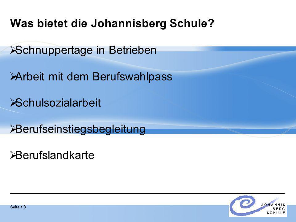 Was bietet die Johannisberg Schule