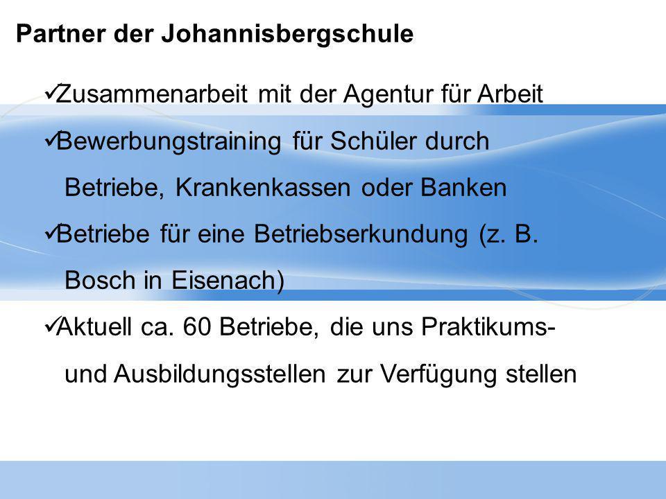 Partner der Johannisbergschule
