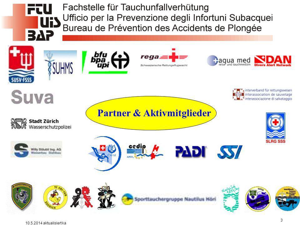 Partner & Aktivmitglieder
