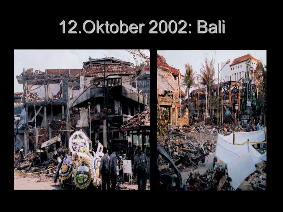 12.Oktober 2002: Bali