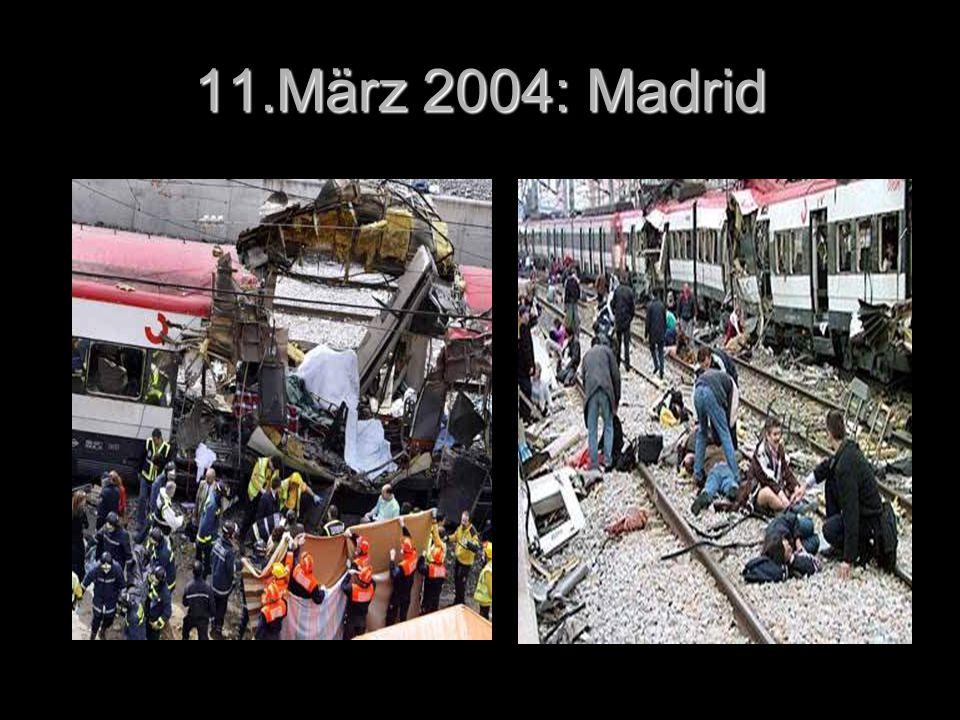 11.März 2004: Madrid