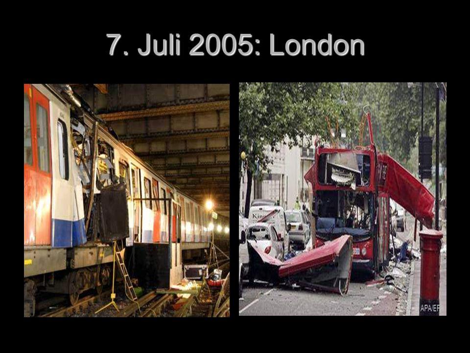 7. Juli 2005: London