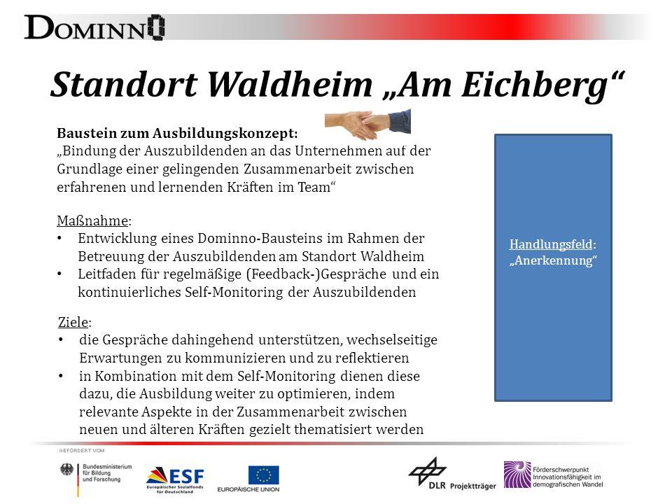 """Standort Waldheim """"Am Eichberg"""