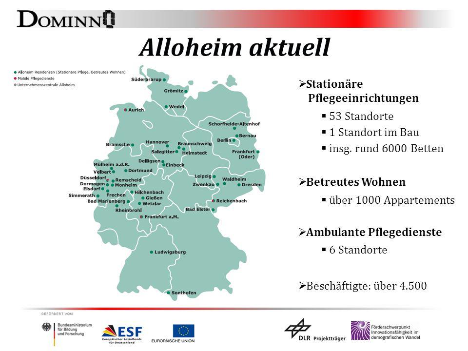 Alloheim aktuell Stationäre Pflegeeinrichtungen 53 Standorte