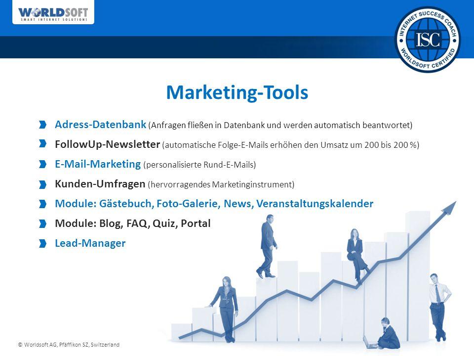 Marketing-Tools Adress-Datenbank (Anfragen fließen in Datenbank und werden automatisch beantwortet)