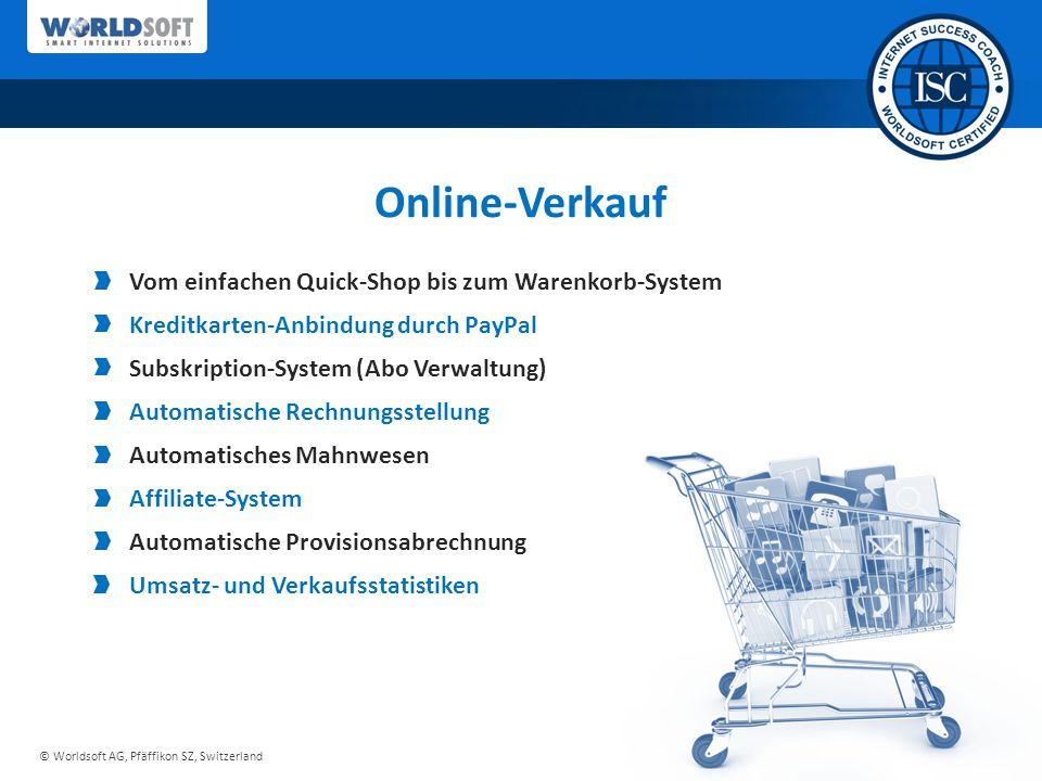 Online-Verkauf Vom einfachen Quick-Shop bis zum Warenkorb-System