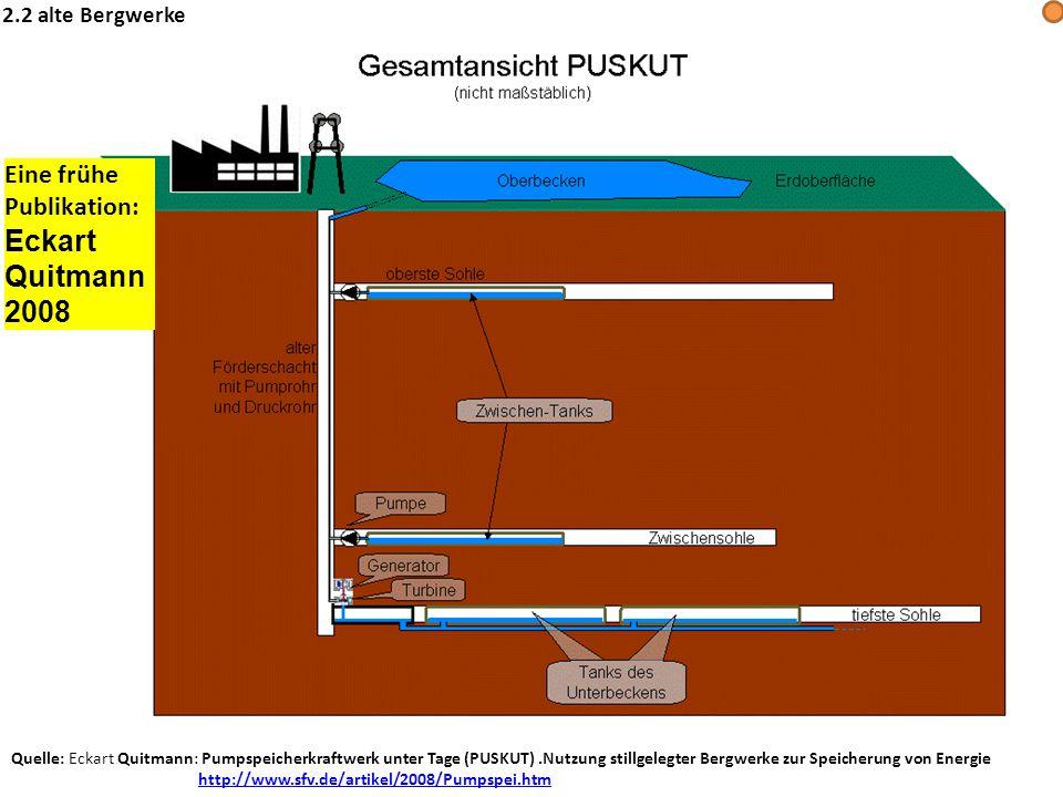 Eckart Quitmann 2008 Eine frühe Publikation: 2.2 alte Bergwerke