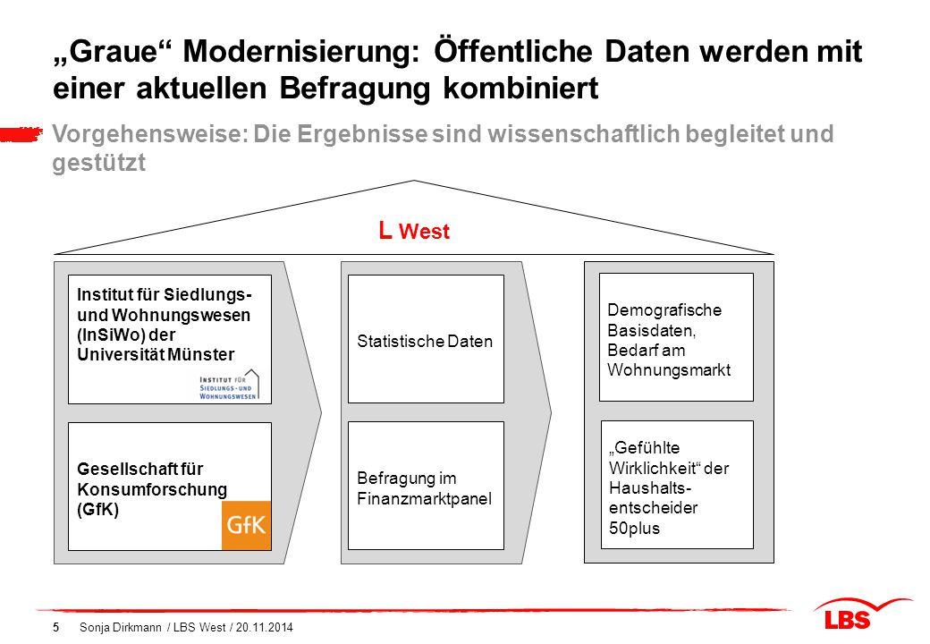 """""""Graue Modernisierung: Öffentliche Daten werden mit einer aktuellen Befragung kombiniert"""