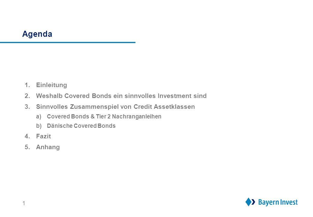 1. Einleitung Schöpfen deutsche institutionelle Kapitalanleger das Credit Spektrum voll aus Financial Nachrang (inkl. CoCos)